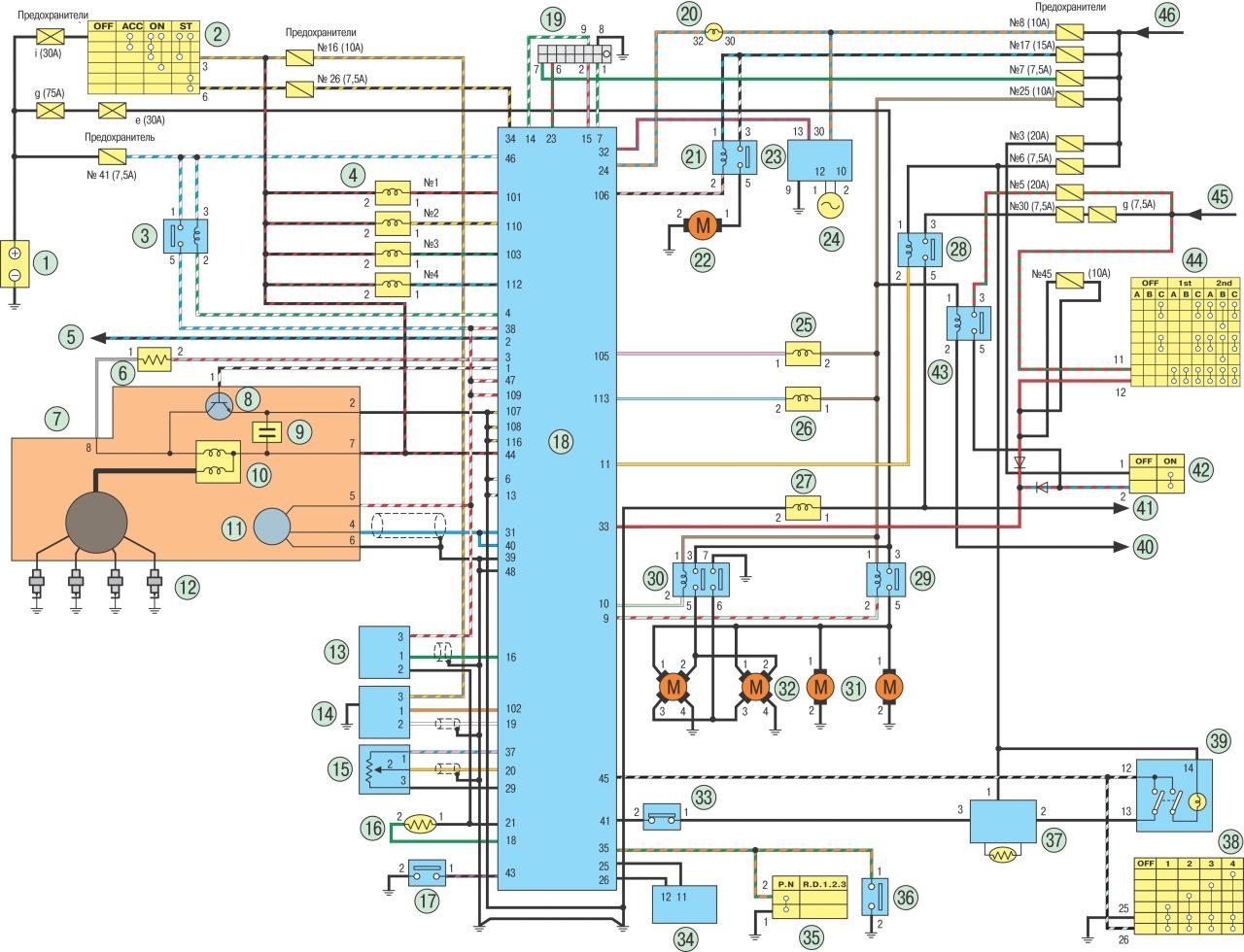 Школа электрика схемы